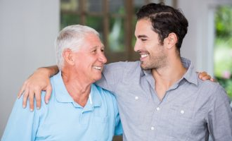 Helping Dad Adjust to Dentures Faster - South Calgary Denture and Implants Clinic - Dentures and Implants Calgary